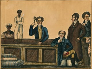 The Bullock Texas State History Museum presents Purchased Lives: The American Slave Trade from 1808 to 1865