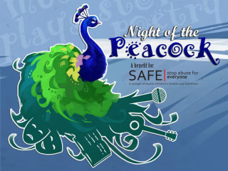 Cinnamon Path Productions presents Night of the Peacock