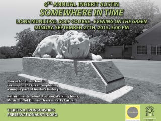 Inherit Austin presents Somewhere in Time: An Evening on the Green Dinner