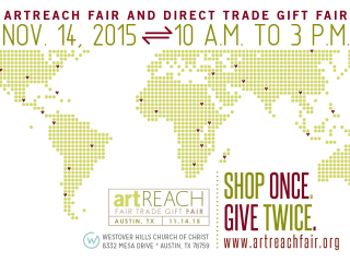 Westover Hills presents Artreach Fair Trade Gift Fair