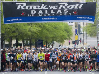 Rock 'n' Roll Dallas Half Marathon