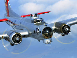 Flying Fortress B-17 Bomber