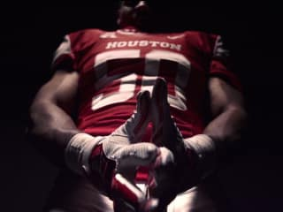 University of Houston football player