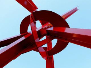 Mark di Suvero_Clock Knot_2007_University of Texas