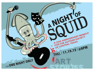 Cinnamon Path Productions presents A Night of Squid