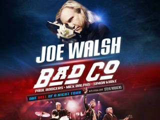 Joe Walsh and Bad Company in concert