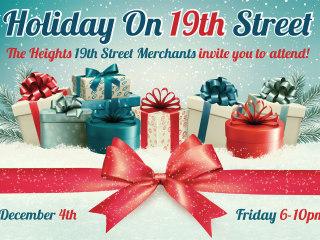 19th Street Merchants presents Holiday on 19th