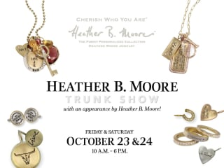 Heather B. Moore Trunk Show