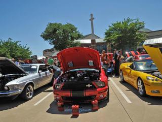 The Heights Baptist Church, car show