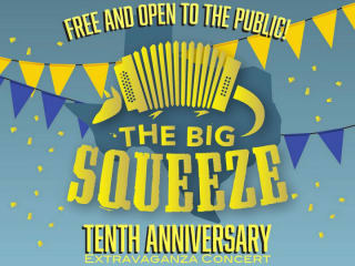 Texas Folklife presents Big Squeeze 10th Anniversary Extravaganza Concert