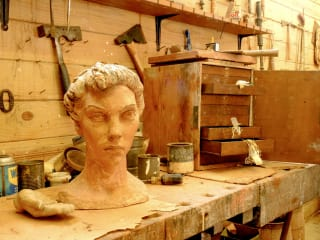 Umlauf Sculpture Garden and Museum presents Studio in the Museum: An Interactive Recreation of Charles Umlauf's Studio