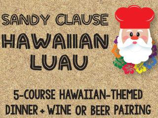 Sandy Clause Hawaiian Luau