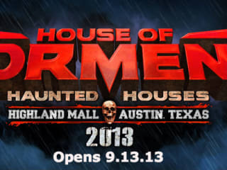 House of Torment Banner for 2013 opening