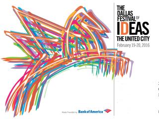 The Dallas Festival of Ideas