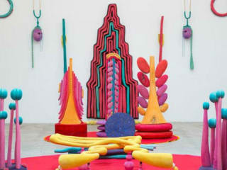 Blaffer Art Museum presents Matthew Ronay: Organ Organelle and In and Out and In and Out