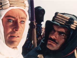 Peter O'Toole and Omar Sharif in Lawrence of Arabia
