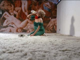 still from the film The Bitter Tears of Petra Von Kant