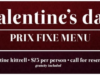 Valentine's Day Dinner at Mulberry