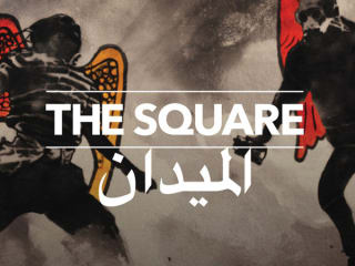 title screen for documentary The Square about Egyptian Revolution