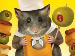 poster with mouse for film Mousehunt