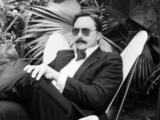 comedian and mustachioed author John Hodgman