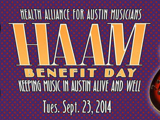 poster HAAM Benefit Day 2014