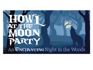"""Howl at the Moon"" at the Houston Arboretum & Nature Center"