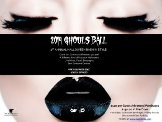 2014 Ghouls Ball