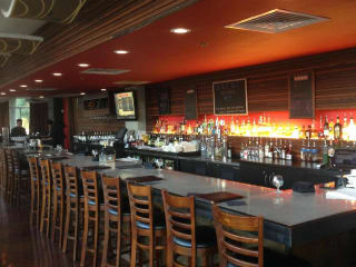 Flour and Vine Austin restaurant bar interior 2015