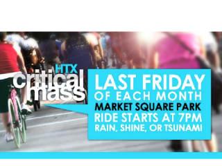 2013 Critical Mass at Market Square Park
