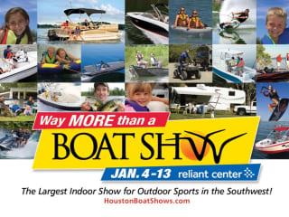 57th Annual Houston International Boat, Sport & Travel Show