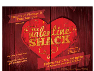 The Valentine Shack Pop-Up Shop