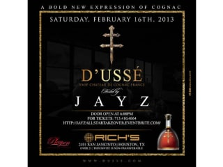 Jay Z All-Star Weekend Event, presented by D'USSÉ Cognac and Playpen Entertainment