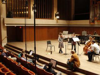 Austin photo: events_ryan_clutch_spring concert_butler school of music_mar 2013_aiana string quartet