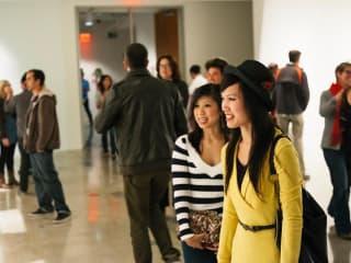Austin photo: events_ryan_visual arts center_graduating students reception_april 2013