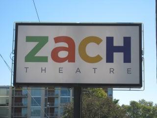Austin Photo: Places_Arts_Zach_Theatre_Sign