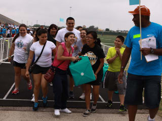 Students participate in charity event Walk for Water presented by A Legacy of Giving
