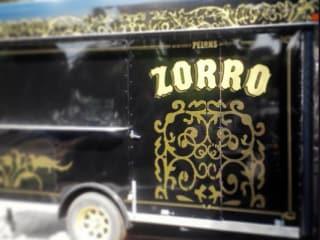 Zorro food trailer truck at Scoot Inn