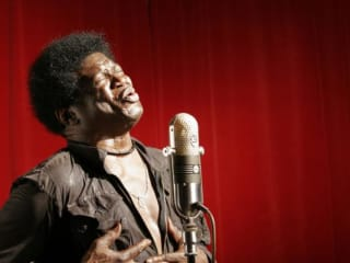 Singer Charles Bradley soul funk