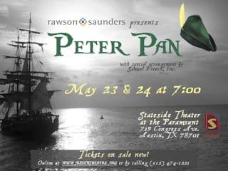 Rawson Saunders School presents Peter Pan at Stateside