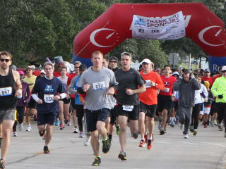 Runners in ZERO Prostate Cancer Run