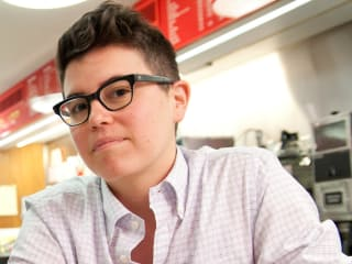 Playwright Sylvan Oswald