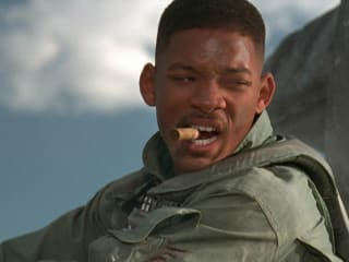 Will Smith in Independence Day for Master Pancake