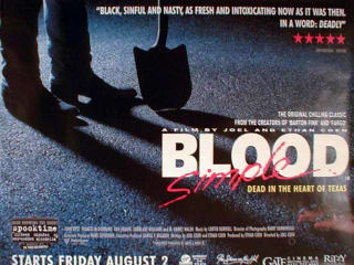 Blood Simple poster Coen Brothers