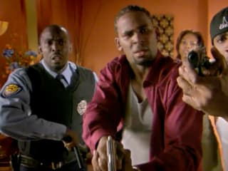 R. Kelly's Trapped in the Closet guns