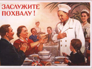 Photo of chef Russian cooking class for Russian House of Austin