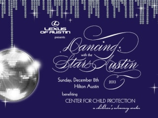2013 Dancing with the Stars Austin flyer