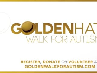 Golden Hat Walk for Autism 2013 at Dell Diamond
