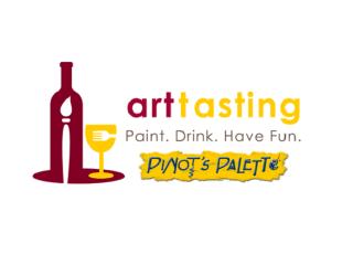 The Art Tasting at Pinot's Palette logo