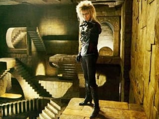 David Bowie as the Goblin King in Labyrinth